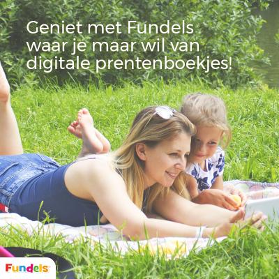 Lees digitale kinderboeken met Fundels waar je maar wil
